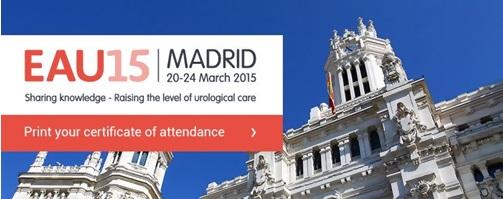 Congreso Europeo de Urología EAU 15th International EAU Meeting